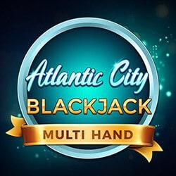 Multihand Atlantic City Blackjack
